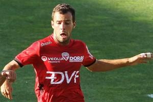 Johan Gastien était titulaire pour sa première saison avec le DFCO (photo : Nicolas Goisque).