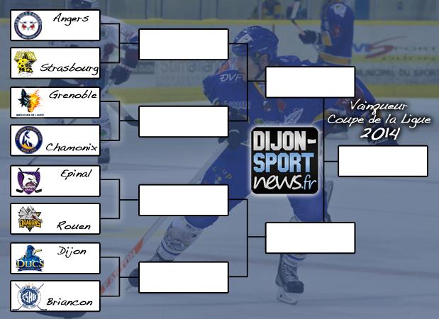 Hockey coupe de la ligue les quarts dijon sport news - Final de la coupe de la ligue ...