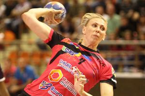 Avec 9 buts, Anastasiya Pidpalova a été l'atout offensif N°1 de Dijon (Nicolas GOISQUE/archives)