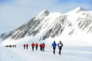 Décor de rêve !! (©Antartic Ice Marathon)
