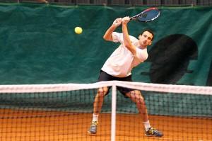 Alexandre Renar a encore été impeccable sur cette rencontre avec deux matchs remportés en 2 sets (Nicolas GOISQUE/www.Focale.info)