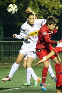 Lindsay Derré ouvre la marque pour Dijon (Nicolas GOISQUE/www.Focale.info)