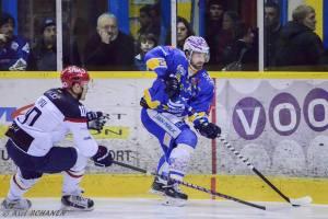 Ilpo Salmivirta et Dijon se sont de nouveau inclinés face à Angers (®Axel Schanen/www.Focale.info)