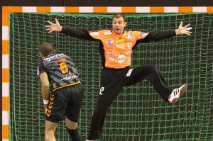 Les Dijonnais auront besoin d'un bon match de leur capitaine pour ramener des points d'Angers (©Eric Bontemps/DBHB)