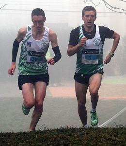 Paul  Lalire à gauche l'emporte devant Adrien Alix à gauche (Nicolas GOISQUE/archives)