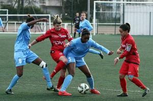 Le match a été heurté avec de nombreuses fautes (Nicolas GOISQUE/www.Focale.info)