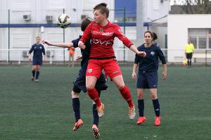 Justine Pacaud a été décisive avec deux buts marqués (Nicolas GOISQUE/www.Focale.info)