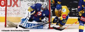 Buysse a été l'homme du match côté Dijonnais(©Claude Ares/ Hockey Hebdo)
