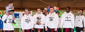 L'équipe masculine (© Alain Borne)