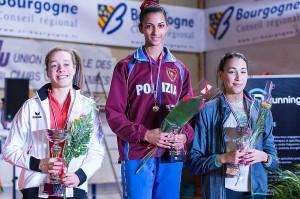 Erika Serfati conserve la première place de la hauteur féminine (©Eric Bontemps)