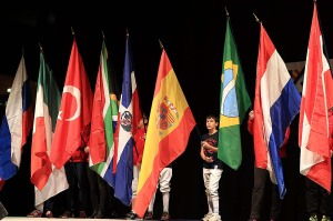23 Nations étaient représentées à Dijon (©Eric Bontemps)