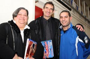 Mme Marcantognini, MPaillisser et M Dib souhaitent pérenniser le tournoi (Nicolas GOISQUE/www.info)