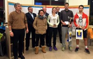 Remise des trophées de l'Open de la Ville de Dijon 2014 (©DUC Tennis)