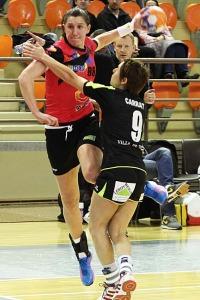 Djana Stevin a réalisé un bon match à l'image de ses coéquipières (Nicolas GOISQUE/www.Focale.info)