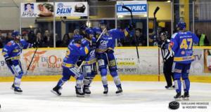 Les ducs ont parfaitement entamé le match (©Guillaume Meurisse/Hockey Hebdo)