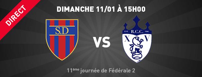 Stade Dijonnais - Compiègne en direct sur Dijon Sport News