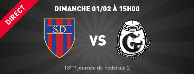 Stade Dijonnais - Gennevilliers en direct sur Dijon Sport News