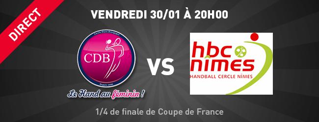 CDB - Nîmes en direct sur Dijon Sport News