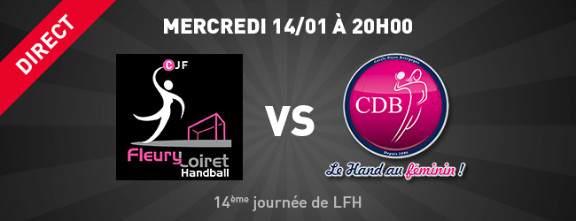 Fleury Loiret Handball - CDB en direct sur Dijon Sport News