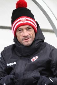 Le coach Bourguignon se satisfait du résultat , pas complètement de la manière (Nicolas GOISQUE/www.focale.info)