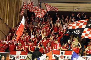 Ce sont les supporteurs de l'Elan qui cahntaient à la fin du match ( Nicolas GOISQUE/www.Focale.info)