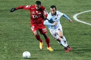 La défense Dijonnaise s'est montré solide en encaissant pas de buts (Nicolas GOISQUE/archives)