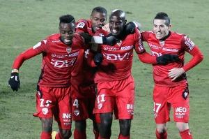 Tavarès avait ouvert le score pour Dijon (Nicolas GOISQUE/www.Focale.info)