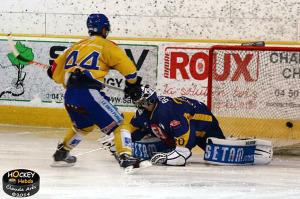 Dame Malka a marqué pour Dijon (©Claude Arès/Hockey Hebdo/archives)