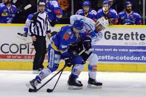 les Ducs ont tenu un tiers temps (©Axel Schanen/Hockey Hebdo/archives)