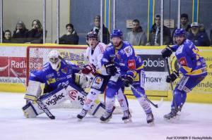 Les Ducs ont tenu durant le 3ème tiers (©Axel Schanen/Hockey Hebdo