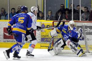 Phénoménale la prestation de Buysse ce soir (©Guillaume Meurisse/Hockey Hebdo)
