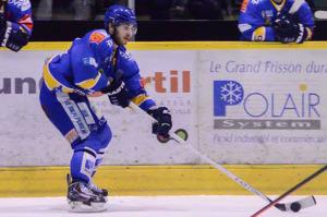 Olivier Dame Malka record de tirs et de ... suspension !!  (©Axel Schanen/Hockey Hebdo)