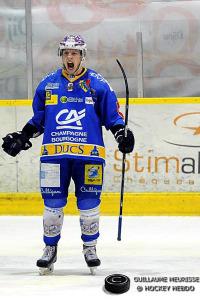 Rech double buteur est un des hommes du match (©Guillaume Meurisse/Hockey Hebdo)