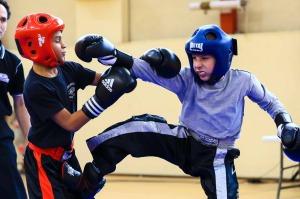 Le dimanche était réservé aux jeunes combattants (©Eric Bontemps)
