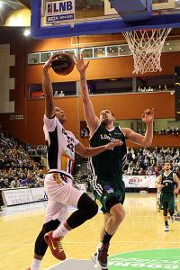 Dijon a été dominé dans la raquette (Nicolas GOISQUE/www.Focale.info)