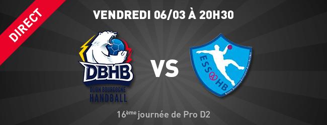 DBHB - Strasbourg-Schiltigheim en direct sur Dijon Sport News