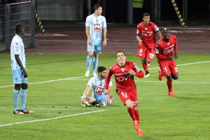 Florian Raspentino a délivré le stade à l'heure de jeu (Nicolas GOISQUE/www.Focale.info)