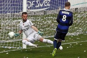 Même si ce n'est pas sur ce coup là Darbion finira par tromper Reynet (Nicolas GOISQUE/www.Focale.info)