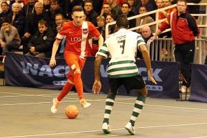 Mathieu Collet a réduit le score à deux reprises (Nicolas GOISQUE/www.Focale.info)