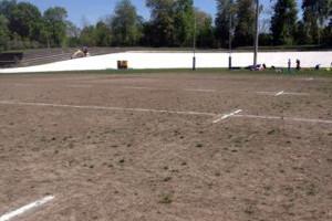 Létat de la pelouse n'a pas facilité la tâche des acteurs (©SD)