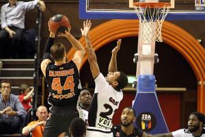 Duggins afait beaucoup de mal à Dijon et Nancy a déroulé en fin de match (Nicolas GOISQUE/www.Focale.info)