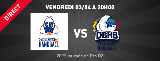 CMHB28 - DBHB en direct sur Dijon Sport News