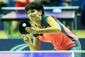 Caroline Moiroux a dominé le tournoi avec son équipiers Loïc Bruchot (©Eric Bontemps)