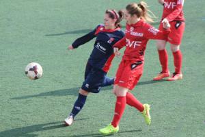 l'équipe une en DH ici contre le DFCO  (© DUC Football Féminin )