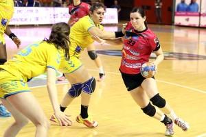 Martina Skolkova a réussi une partie pleine ce soir (Nicolas GOISQUE/www.Focale.info)