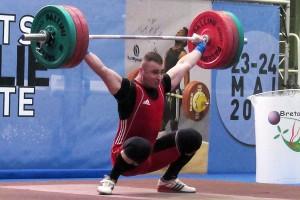 140 kg à l'arraché pour Denis Joukov (©HMDB21)