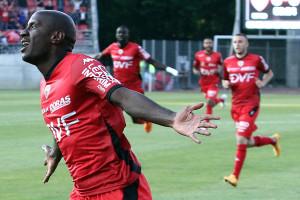 Tavares a ouvert le score dès la 4ème minute (©Nicolas GOISQUE/www.Focale.info)