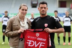 Comme son futur coach Samuel Riscagli, Adeline a de l'ambition pour son futur club (Nicolas GOISQUE/www.Focale.info)