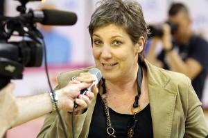 Karine Savina est fière de son équipe (Nicolas GOISQUE/archives)