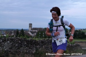 Carmen Hildebrand à Pommard : km 27  (©Nicolas GOISQUE/www.Focale.info)